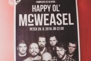 Happy Ol' McWeasel - 28. 9. 2018